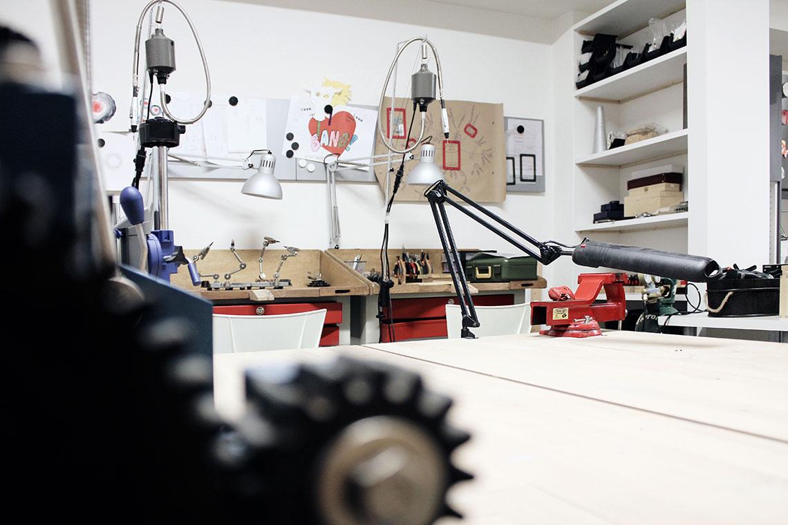 Niki Stylianou - studio workshop